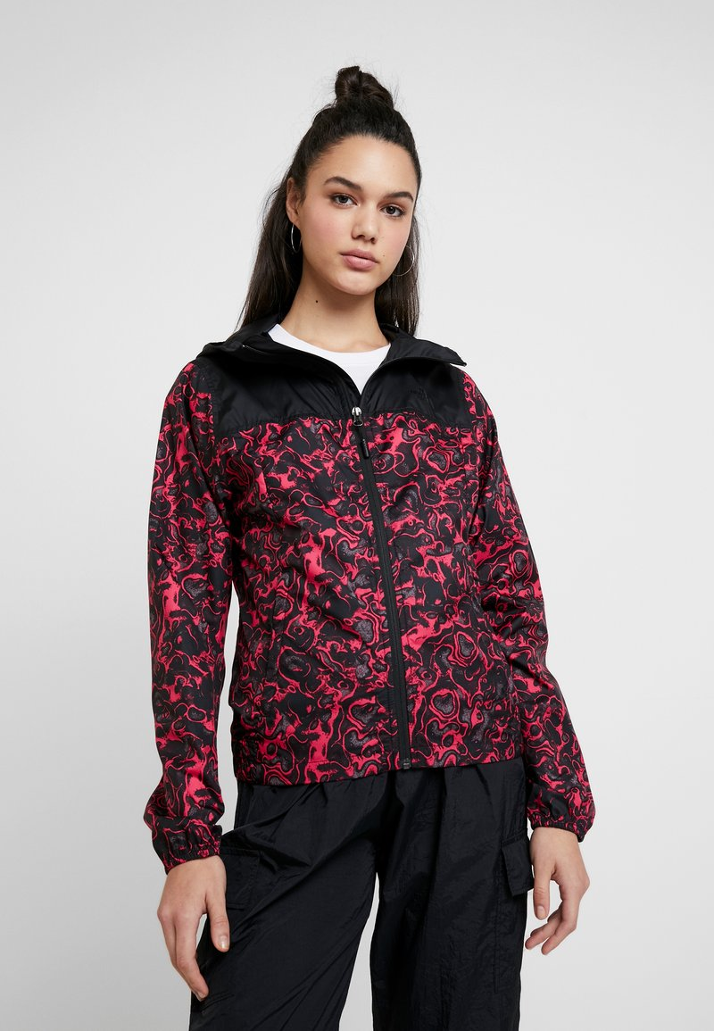 The North Face - PRINT CYCLONE - Summer jacket - rose red