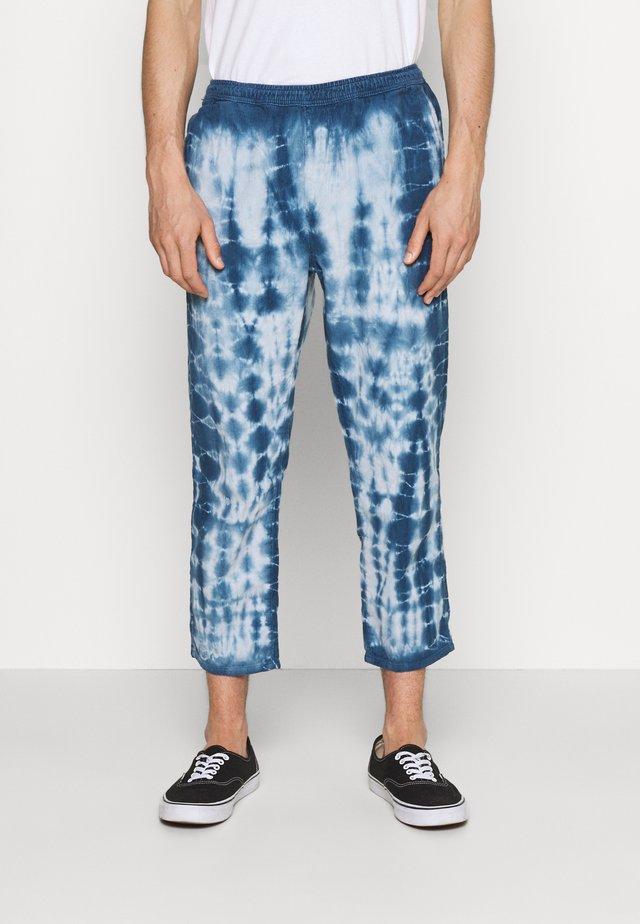 TIE DYE PANT - Pantaloni - blue