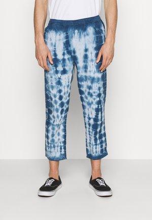 TIE DYE PANT - Trousers - blue