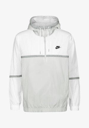 Windbreaker - white grey fog particle grey black