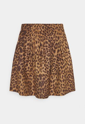 KIA - Mini skirt - golden brown