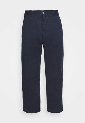 UNIVERSE PANT CROPPED - Pantalon classique - navy blazer