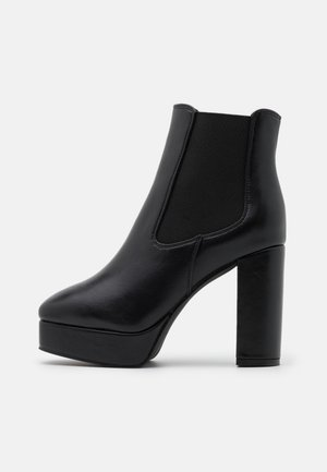 DEIDRAH - High heeled ankle boots - black