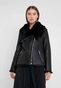 STUDIO ID - PHILIPPA JACKET - Leather jacket - black - 3