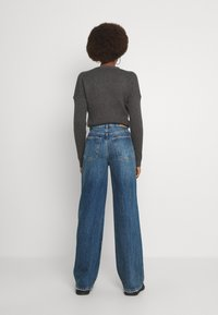 Gina Tricot Tall - IDUN WIDE - Relaxed fit jeans - dark sea blue - 2