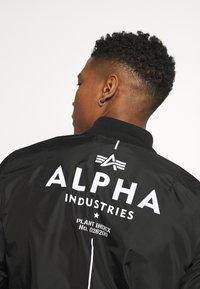 Alpha Industries - GLOW IN THE DARK - Bomber Jacket - black - 4
