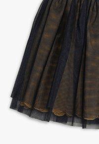 3 Pommes - SKIRT - Veckad kjol - midnight blue - 2