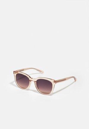 Sunglasses - crystal nude