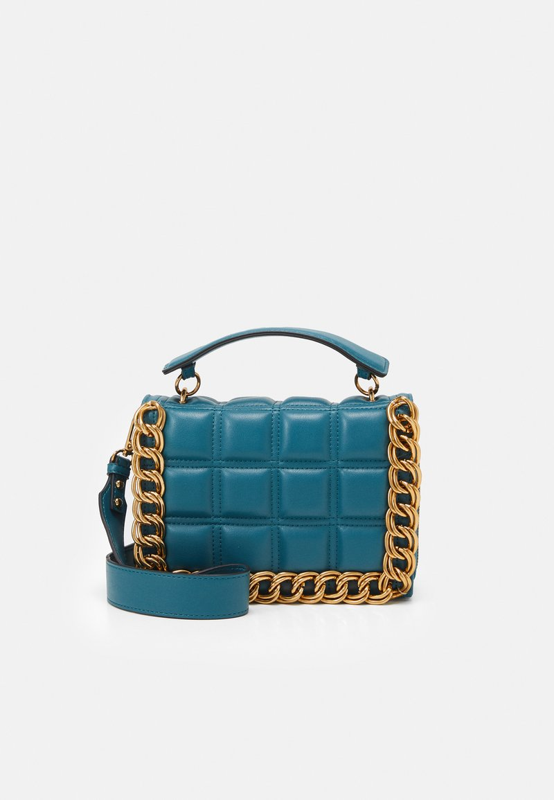 Topshop - WEBB CHAIN UPDATE - Borsa a tracolla - teal