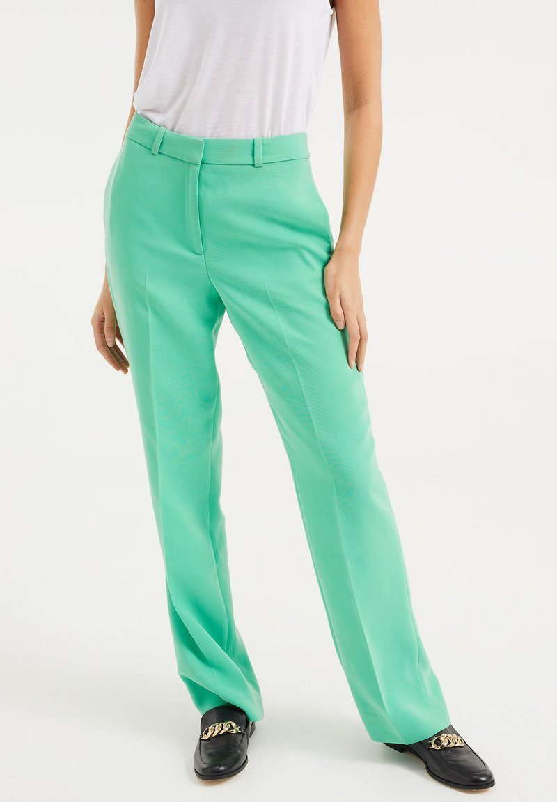 WE Fashion - Trousers - bright green