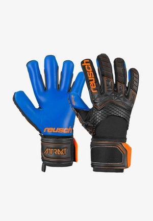 Gloves - blck/shock. orange/deep b