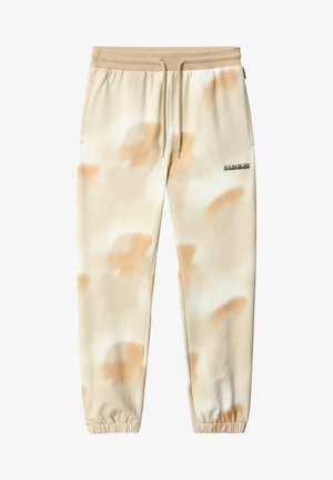 M-AIRBRUSH H AOP - Tracksuit bottoms - beige camou