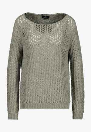 CHENILLE - Long sleeved top - green