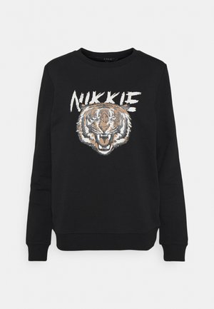TIGER  - Sweatshirt - black