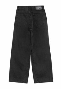 Grunt - WIDE LEG - Relaxed fit jeans - calm black - 1