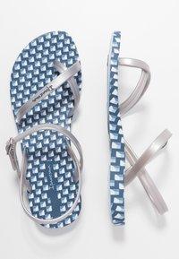 Ipanema - FASHION  - Pool shoes - blue/silver - 3