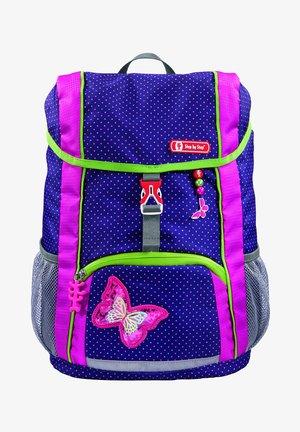 SET - Backpack - shiny butterfly