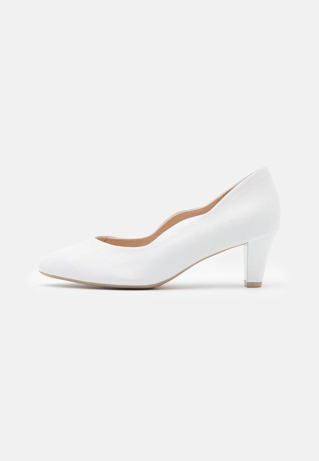 COURT SHOE - Klassieke pumps - white