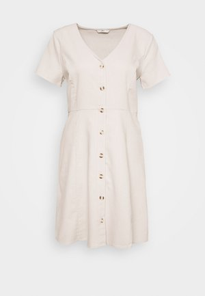 ONLLORELLE SHORT DRESS - Day dress - pumice stone