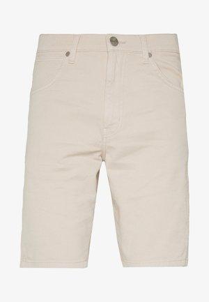TEXAS FIT - Denim shorts - stone