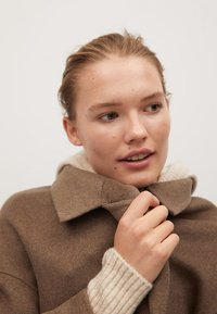 Mango - PICAROL - Classic coat - medium brown - 5