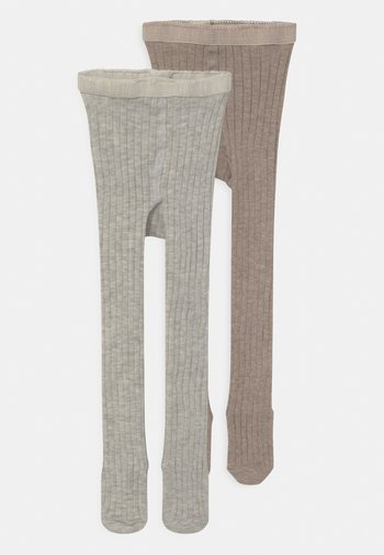 BABY 2 PACK - Tights - light brown