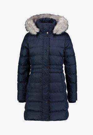 NEW TYRA COAT - Kabát zprachového peří - blue