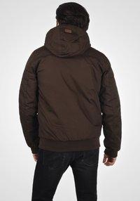 Solid - TILLY - Light jacket - dark brown - 2