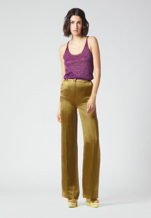Trousers - ocra