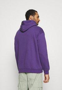 YOURTURN - UNISEX - Jersey con capucha - purple - 2