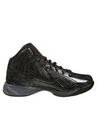 AND1 - XCELERATE MID - Basketball shoes - black/asphalt black - 3
