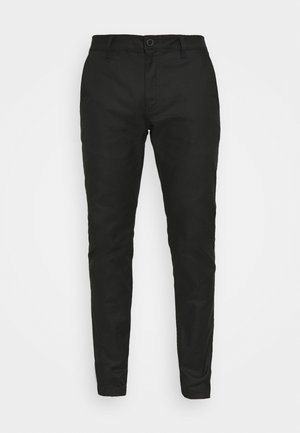 ESSEX STRETCH SLIM PANT - Trousers - black