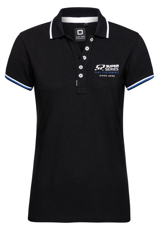OFFSHORE - Polo shirt - black