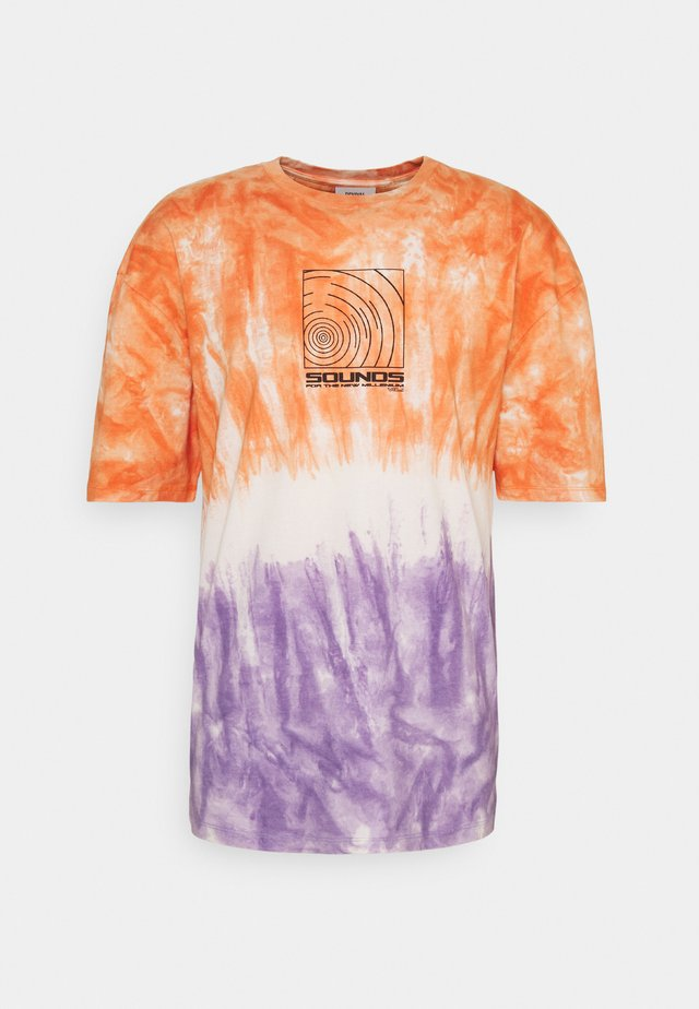 SOUNDS TIE DYE TEE UNISEX - T-shirt print - multi