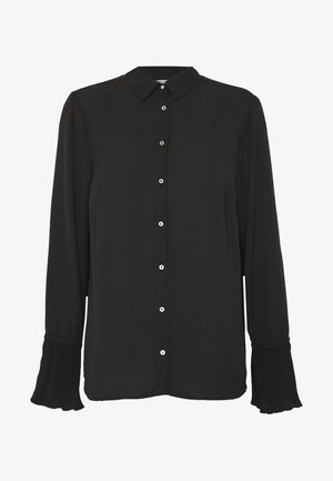 ONLNILLA - Button-down blouse - black