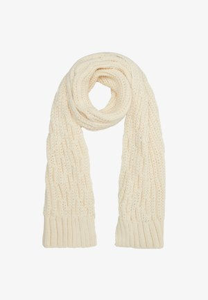 Scarf - offwhite knit