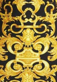 Versace Jeans Couture - LADY BUSTIER - Top sdlouhým rukávem - black - 7