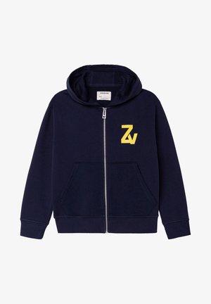 ZIPPÉ - Sweat à capuche zippé - nuit