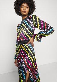 Olivia Rubin - MARLEY DRESS - Maxi šaty - black/multi-coloured - 3