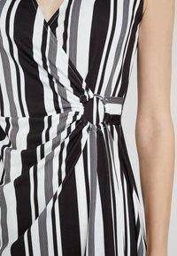 Anna Field - Shift dress - white/black - 5