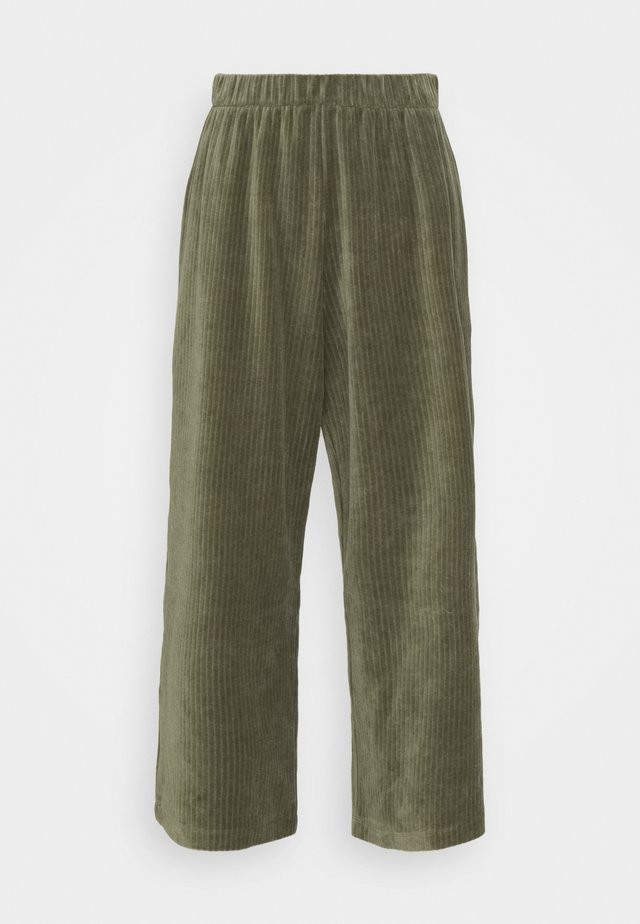 CORIE TROUSERS - Broek - green