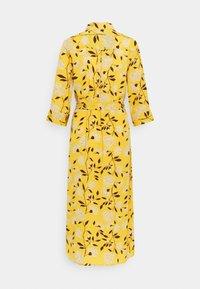 ONLY - ONLNOVA LUX  SHIRT DRESS - Skjortekjole - golden yellow/white - 7