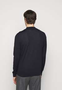 Paul Smith - GENTS CARDIGAN ZIP THRU - Cardigan - dark blue