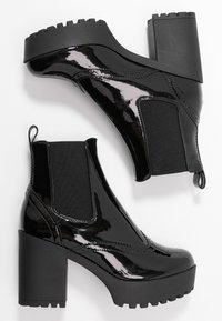 Even&Odd - High heeled ankle boots - black - 3