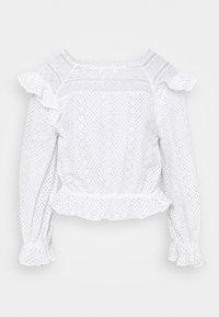 sandro - Long sleeved top - ecru - 0