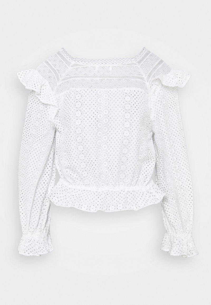 sandro - Long sleeved top - ecru