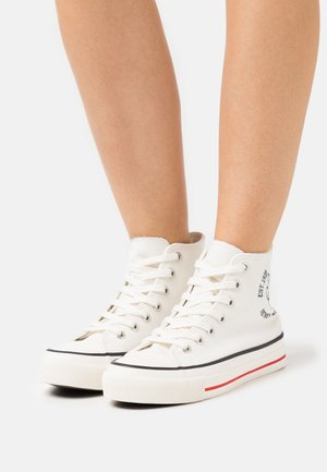 MICKEY BRITT RETRO - High-top trainers - offwhite