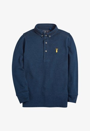 LONG SLEEVE - Polo shirt - dark blue