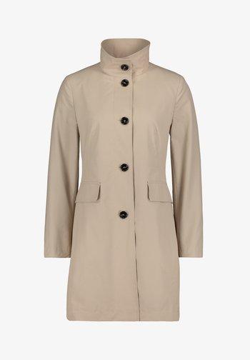 MIT STEHKRAGEN - Short coat - beige