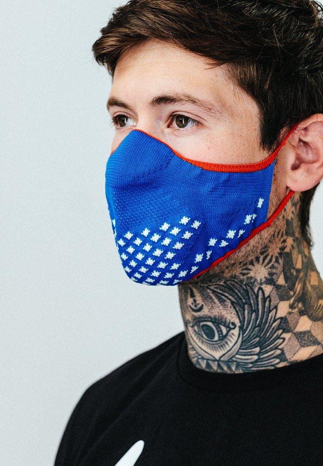 Masque en tissu - blue/red
